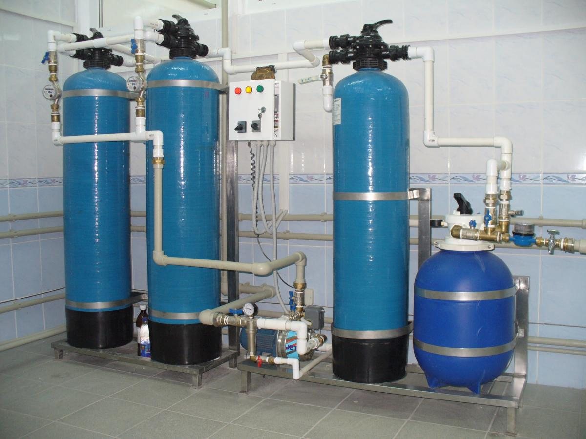 Станция обезжелезивания воды своими рук