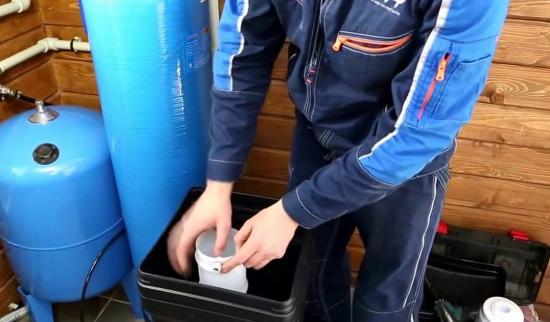 Монтаж водоподготовки и водоочистки
