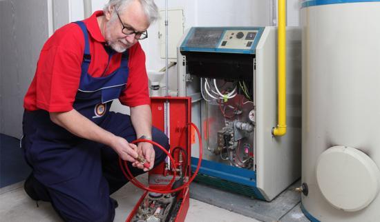Промывка газового котла от накипи
