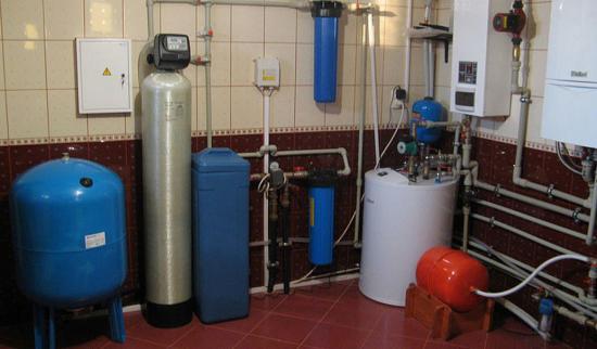 Система подготовки воды для частного дома