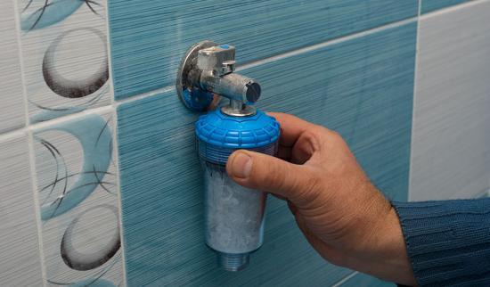 Солевой фильтр для воды