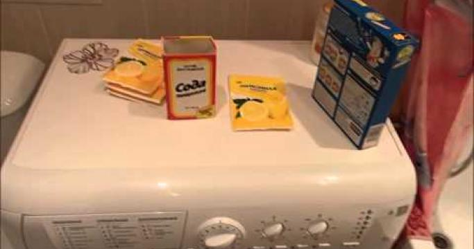 Embedded thumbnail for Как почистить стиральную машинку автомат от накипи?