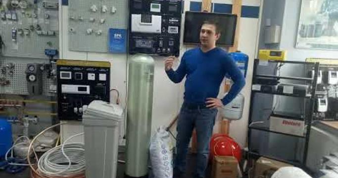 Embedded thumbnail for Магистральный фильтр умягчитель воды, какой выбрать?
