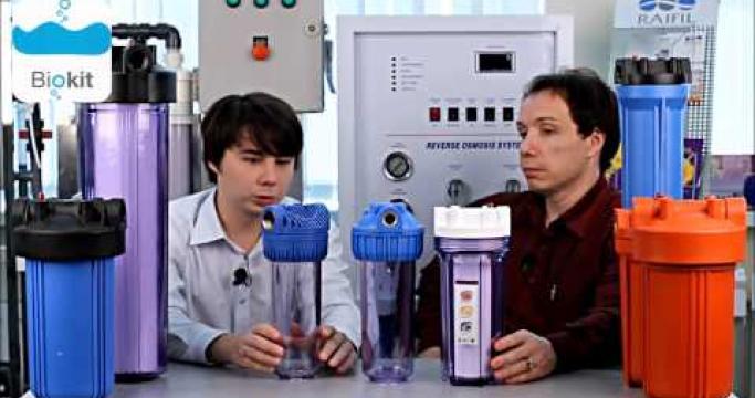 Embedded thumbnail for Магистральный механический фильтр для холодной воды, какой купить?