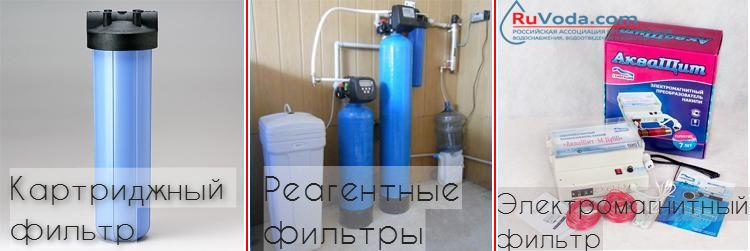 ТОП-3 фильтров для очистки известковой воды из скважины