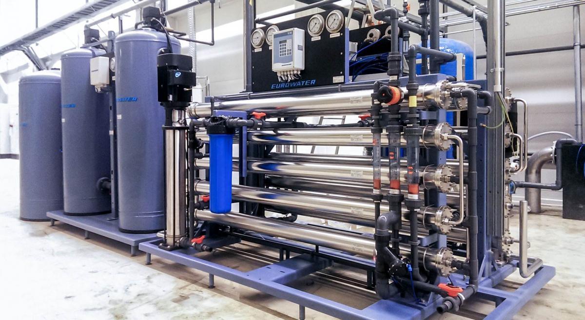 Установка очистки воды от железа из скважины озонированием