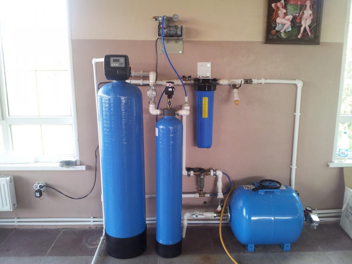 Химический (реагентный) фильтр для жесткой воды из скважины