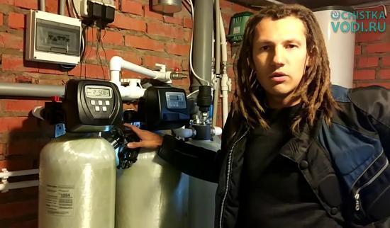 Павел Куркин и его водоочистка