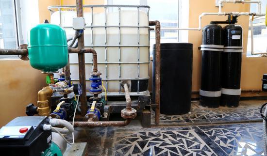 Установка умягчения воды для котельной