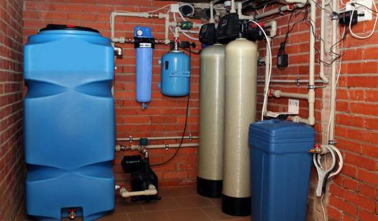 Умягчитель воды в частный дом
