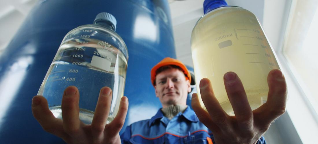 Какими способами возможно провести очистку воды от запаха сероводорода