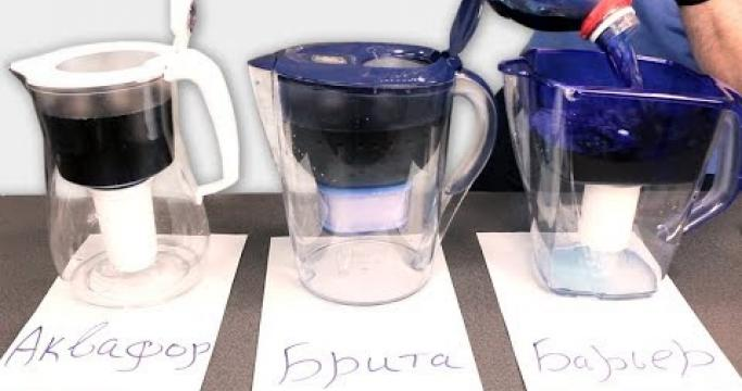 Embedded thumbnail for Фильтры для воды Аквафор и Барьер в Эльдорадо