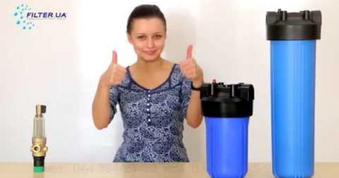 Embedded thumbnail for Фильтр для воды Биг Блю 20 и 10, сменные картриджи к фильтру